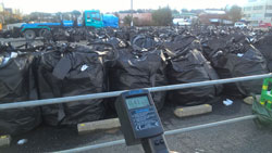 Our dosimeters at Fukushima
